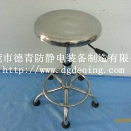 DQ防静电不锈钢升降椅,东莞优质防静电圆凳,恩平防静电圆凳