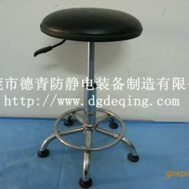 防静电升降皮革圆椅,防静电圆凳,优质静电椅椅座∮360mm