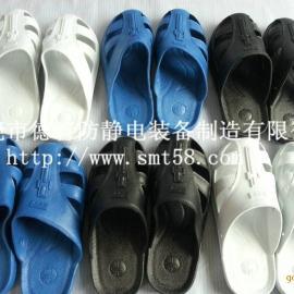 黑色/蓝色/白色7213护趾拖鞋,珠海、龙岗、中山防静电鞋