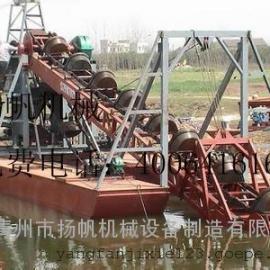 青州挖沙船  链斗式挖沙船  移动挖沙船