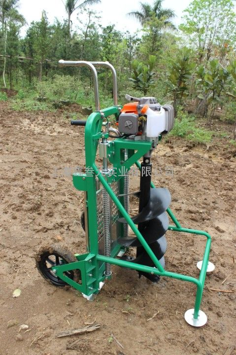 高效打坑机、便携式刨穴机QMB300 MP、十套节目挖坑机