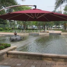 三亚沙滩伞价格/实木中柱伞/户外太阳伞