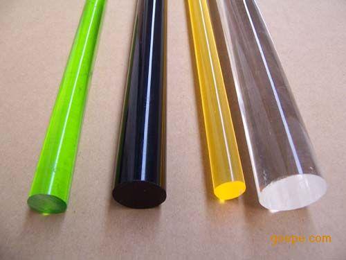 供应亚克力扭纹线棒,有机玻璃直线棒厂家图片