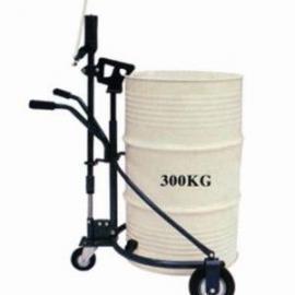 厂家批发油桶车 脚踏式油桶搬运车 油桶手推车 铁桶适用