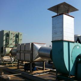 印刷粉尘废气治理工程 印刷厂印刷粉尘废气净化裂解设备