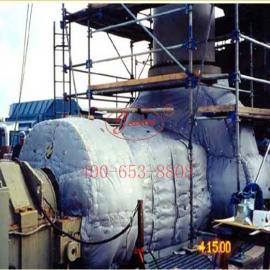 可拆卸透平机保温