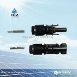 光伏防水连接器/MC4防水接头/太阳能线对线接头