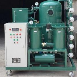 机油液压油进水后怎么办?请用机油液压油脱水过滤机