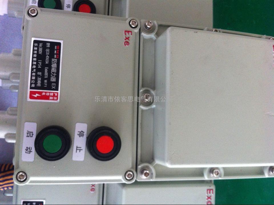 QC31-4TA15A防爆磁力器订做 15A