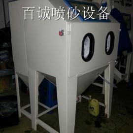 6050小型手动喷砂机 标准型箱式喷砂机 手动喷砂机厂家