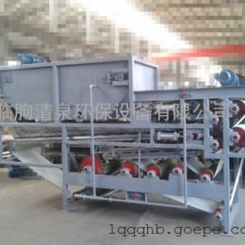 山东临朐清泉环保---直销DNQ型带式浓缩压滤一体机