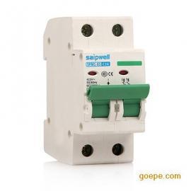 【厂家直销】2P 16A空气式小型断路器 高分段低压断路器