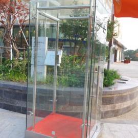 昆山钢化玻璃岗亭