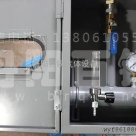 钢结构厂混合气配气器接头箱、宁波混合气配气器工位箱