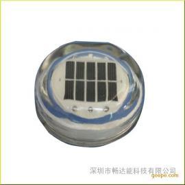 现货供应太阳能钢化玻璃道钉 led道钉