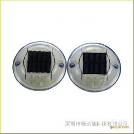 供应太阳能圆PC道钉 交通6led道钉