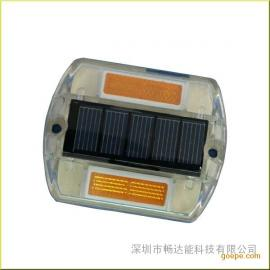 东莞太阳能道钉 led道钉 塑料道钉 警示效果明显
