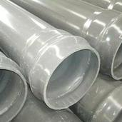 山西运城PVC实壁管、大口径PVC-M给水管