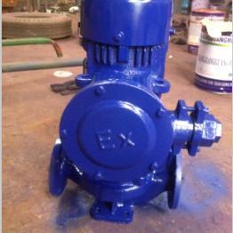 YG40-100A型防爆管道式离心油泵