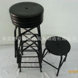 深圳防静电四脚凳,广州注塑四脚凳批发 流水线员工用防静电凳