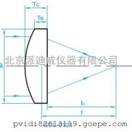 GCL-012103P ZnSe 平凸透镜直径(Ф):25.4焦距:±2%@ 10.6 μm