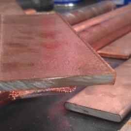 铜包钢扁钢 铜包钢扁线厂家/铜包钢接地棒价格双高零利润销售