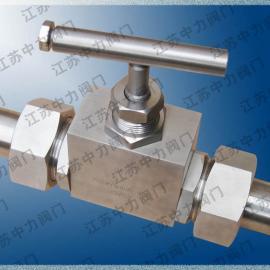 超高压焊接截止阀