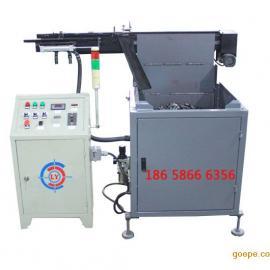 中频炉自动送料机只需90W|圆钢加热红冲锻打中频炉上料机自动化
