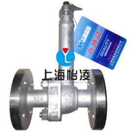 低温阀门|上海怡凌DQ41F-16P低温法兰球阀