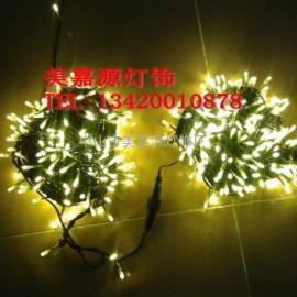 LED节日灯串,树枝装饰灯串,LED满天星,公园亮化灯