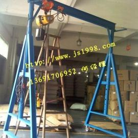 轻型500公斤龙门吊架,简易龙门吊架价格