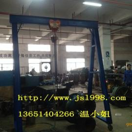 轻型1吨龙门架,轻型手拉龙门吊架,深圳龙门吊架价格
