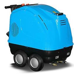 电动热水高压清洗机 意大利进口除油污用高压清洗机