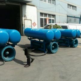 浮筒式大流量潜水轴流泵