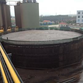 白酒生产废水处理设计及运行结果