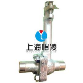 低温阀门|上海怡凌DQ61F低温焊接球阀