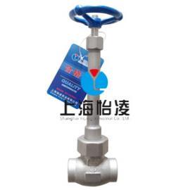 低温阀门|上海怡凌DJ61F小口径低温截止阀
