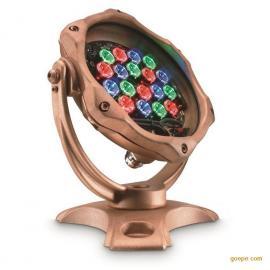 飞利浦LED水底灯具 LED水下灯 RGB全彩BCP468