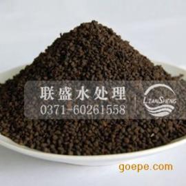 联盛除铁锰专用锰砂滤料 高效适用性强的天然锰砂滤料
