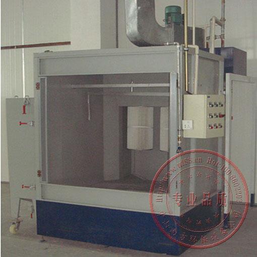 喷粉除尘柜,喷涂粉料回收器,涂装滤芯回收集尘器