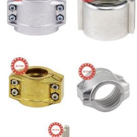 不锈钢DIN2817/EN14420-3两片式拉瓦管卡管夹