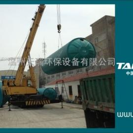 宁波.杭州地埋式整体玻璃钢化粪池