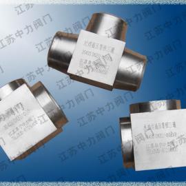 天然气高压对焊三通