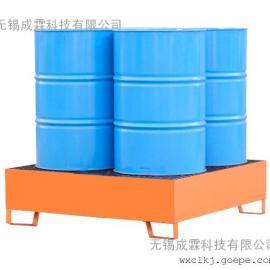 无锡钢制托盘 无锡防泄托盘 无锡油桶专用钢制防漏托盘 新区