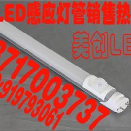 厂家直销 LED日光灯管T8人体红外感应灯管1.2米18W地下库灯管