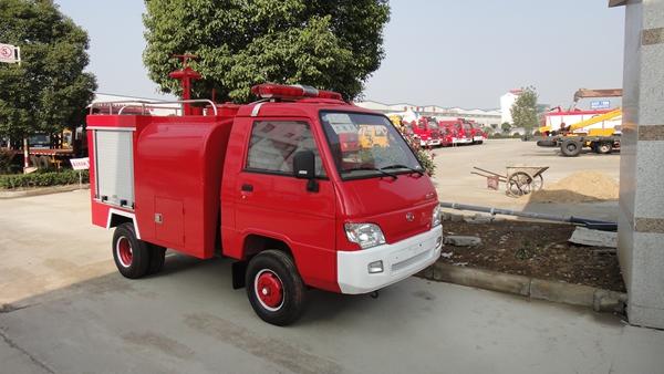 乡镇用装水1.5吨小型消防车价格