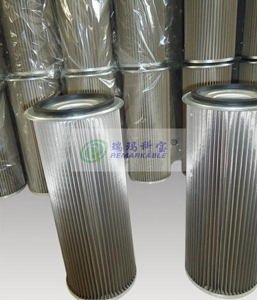 耐高温除尘器滤芯集尘箱过滤筒滤网