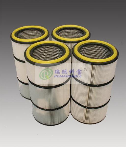 炭黑粉末回收滤芯集尘器滤筒色母碳黑粉尘回收器滤筒滤网