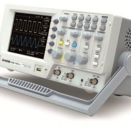 固纬100MHz数字存储示波器