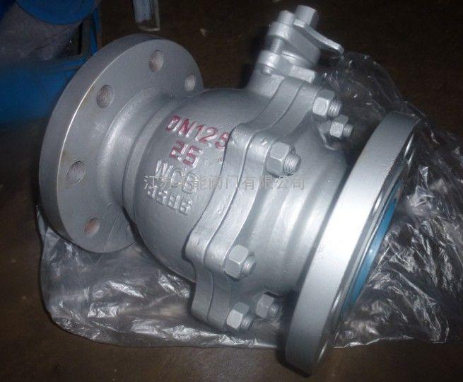 q41f-25c铸钢法兰球阀图片